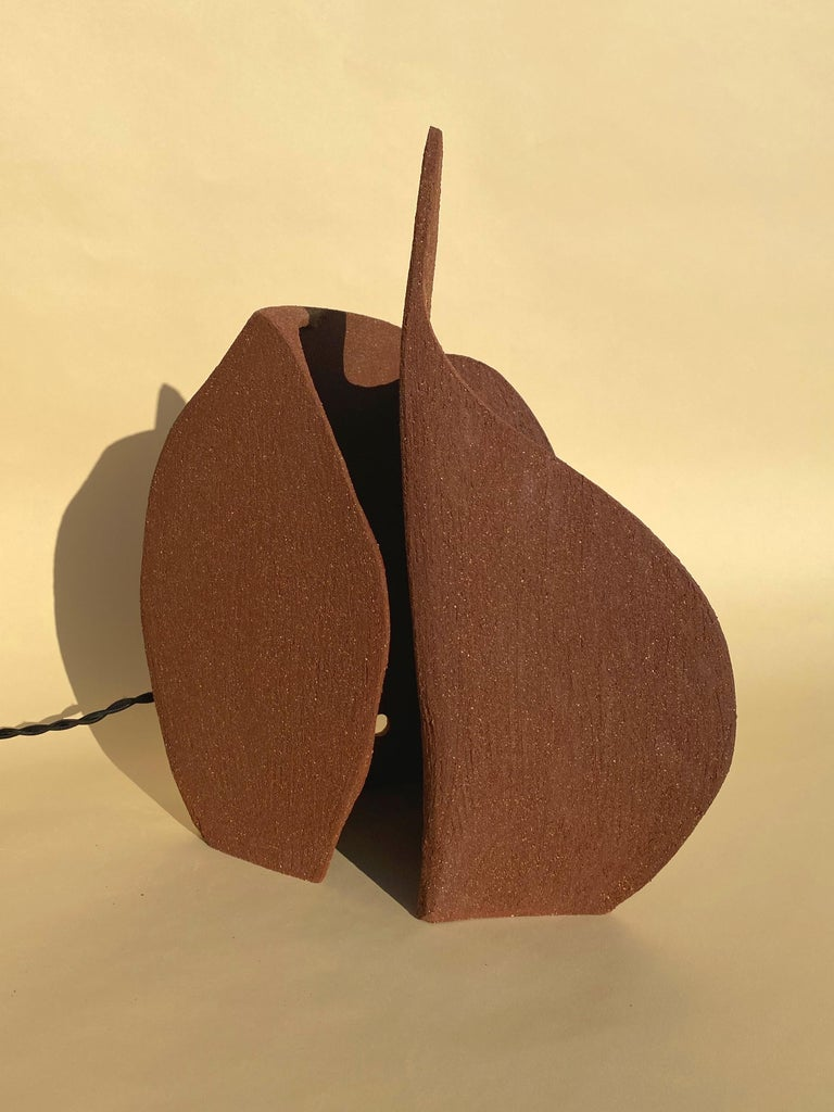 Contemporary Ceramic Lamp by Olivia Cognet For Sale