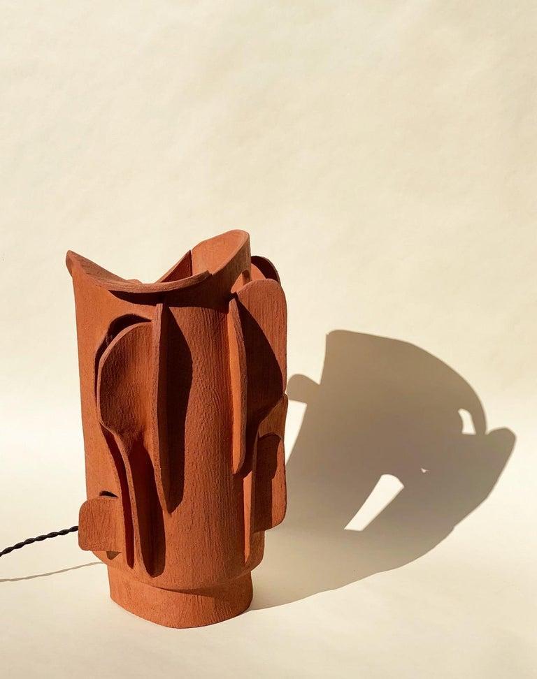 Ceramic Lamp by Olivia Cognet For Sale 2