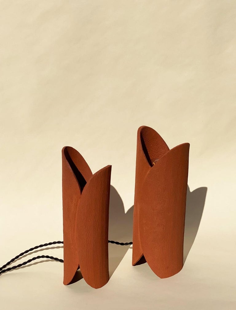 Ceramic Lamp by Olivia Cognet For Sale 3