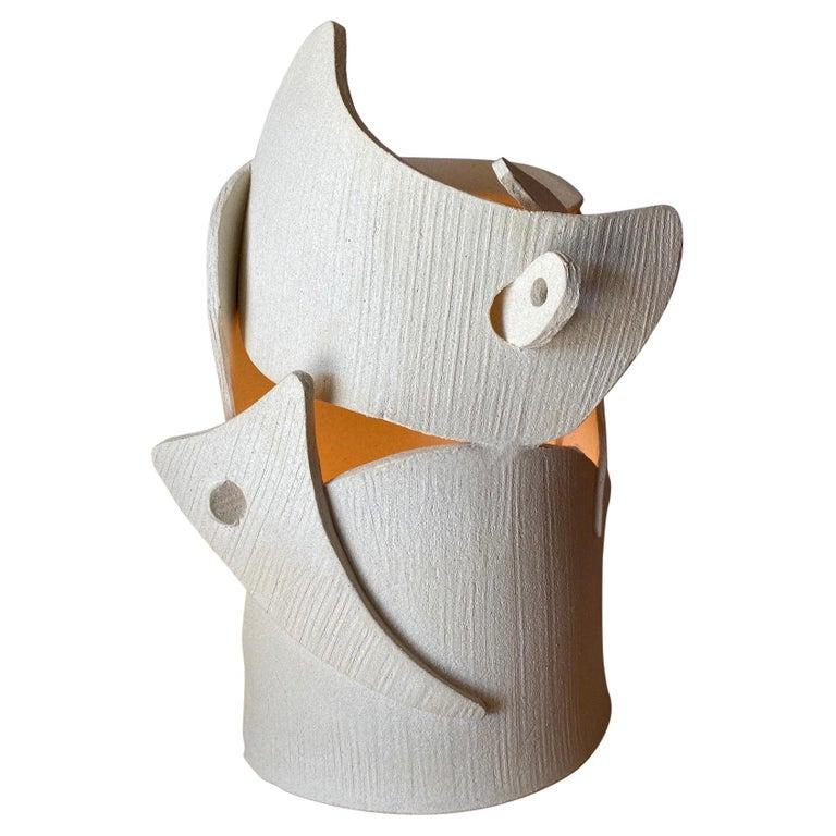 Ceramic Lamp by Olivia Cognet For Sale