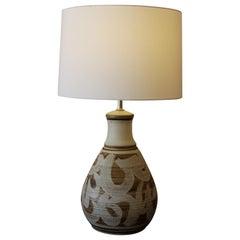 Stoneware Lamp by Wishon-Harrell