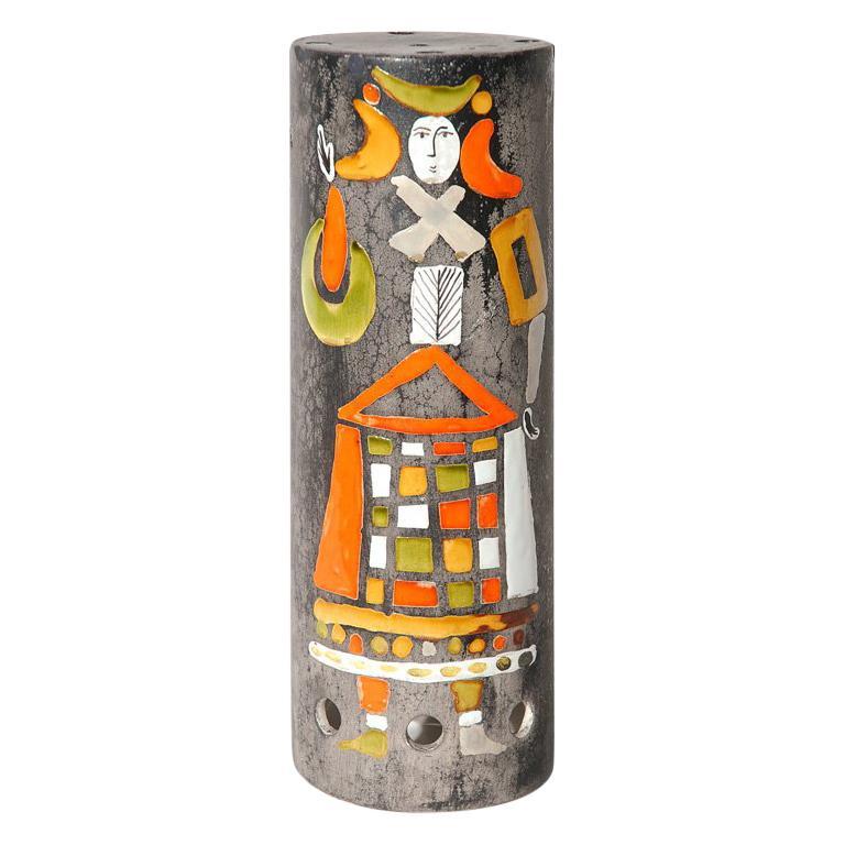 Ceramic Lamp Shade by Roger Capron