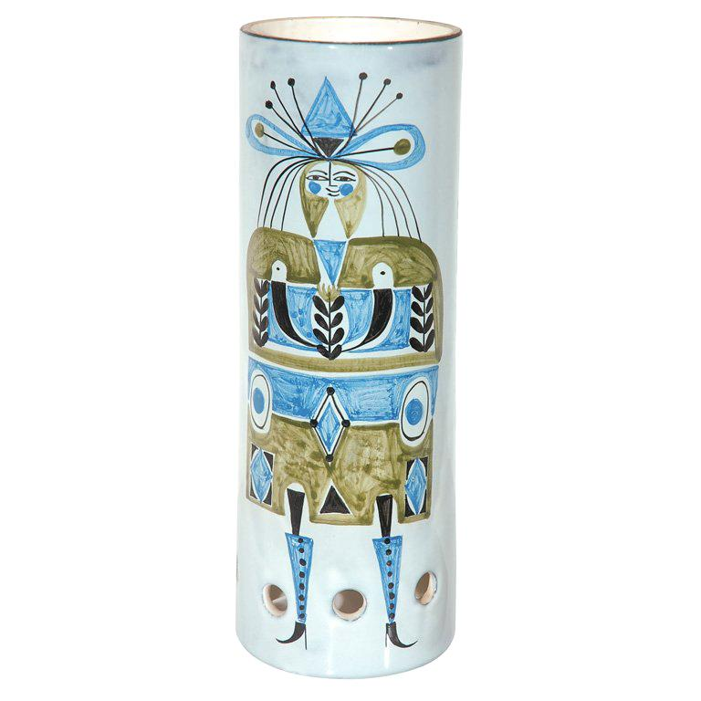 Ceramic Lamp Shade by Roger Capron For Sale