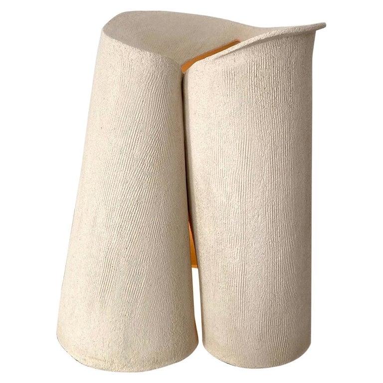 Ceramic Large Lamp by Olivia Cognet For Sale