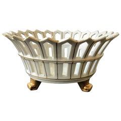 Ceramic Lattice Bowl