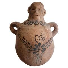Ceramic Mezcal Jug from Mexico, circa 1970s