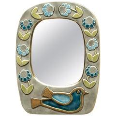 Ceramic Mirror by Mithé Espelt