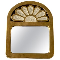 Ceramic Mirror by Mithé Espelt
