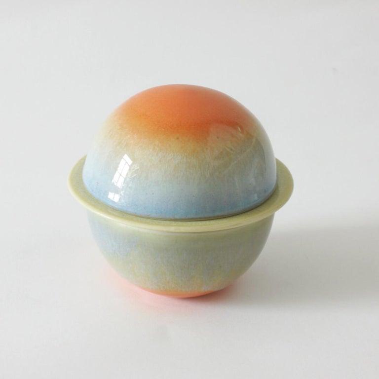 Modern Ceramic Moonlet Tea Set by Carol Joo Lee For Sale