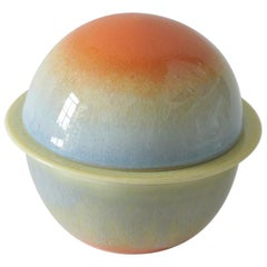 Ceramic Moonlet Tea Set by Carol Joo Lee