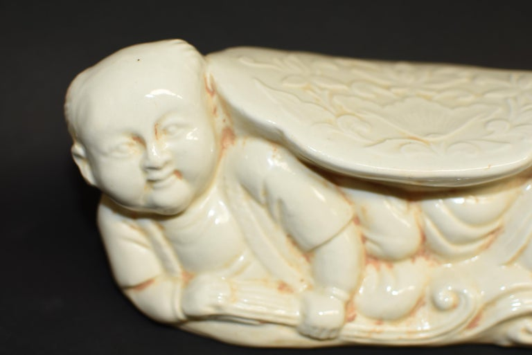 Ceramic Pillow Chinese Ding Ware Song Dynasty Style For Sale 1