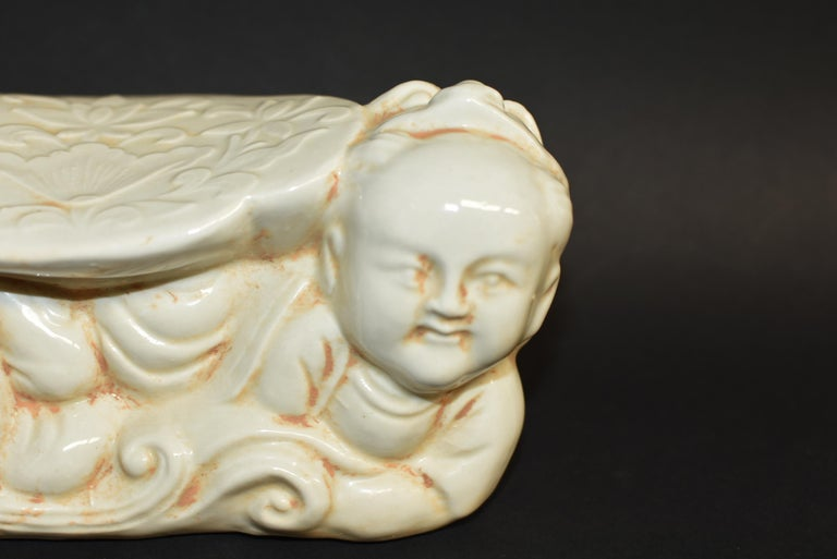 Ceramic Pillow Chinese Ding Ware Song Dynasty Style For Sale 2