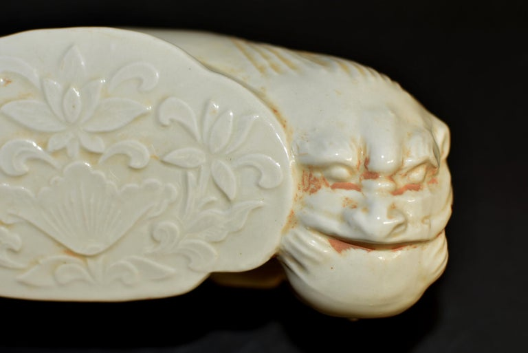 Ceramic Pillow Chinese Ding Ware Song Dynasty Style For Sale 5