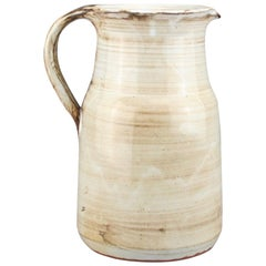Ceramic pitcher by Dominique Pouchain, L'Atelier Dieulefit