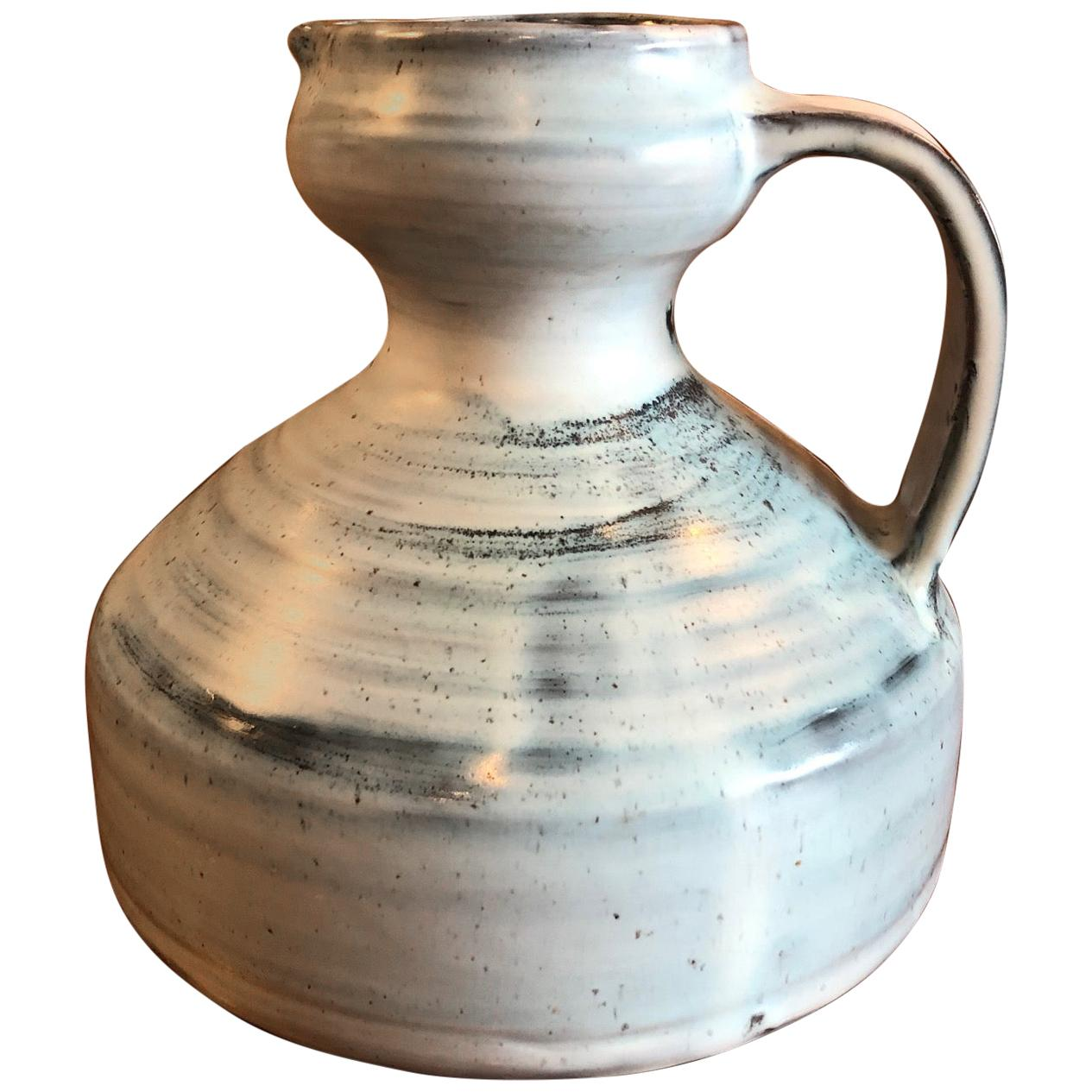 Ceramic Pitcher by Jacques Pouchain, France, 1960s