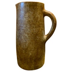 Ceramic Pitcher by Les 2 Potiers, France, 1960s