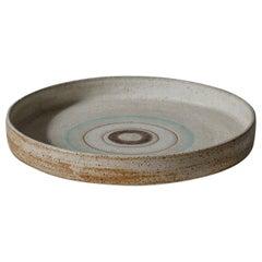 Ceramic Platter by Bruno Gambone