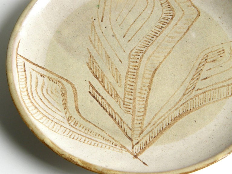 Glazed Ceramic Platter by Lee Rosen for Design Technics For Sale