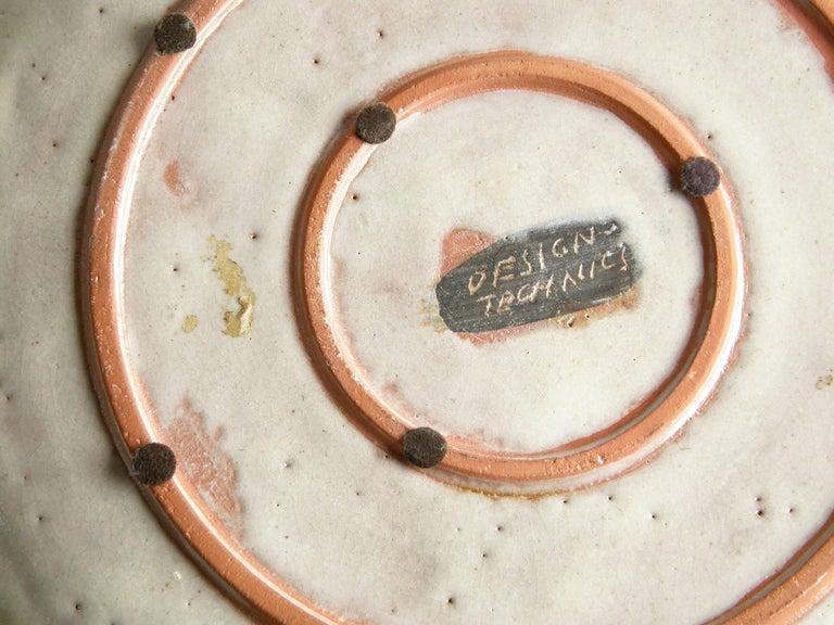 Mid-20th Century Ceramic Platter by Lee Rosen for Design Technics For Sale