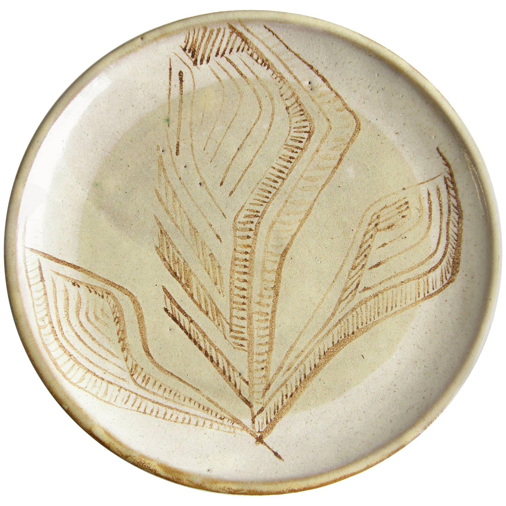 Ceramic Platter by Lee Rosen for Design Technics
