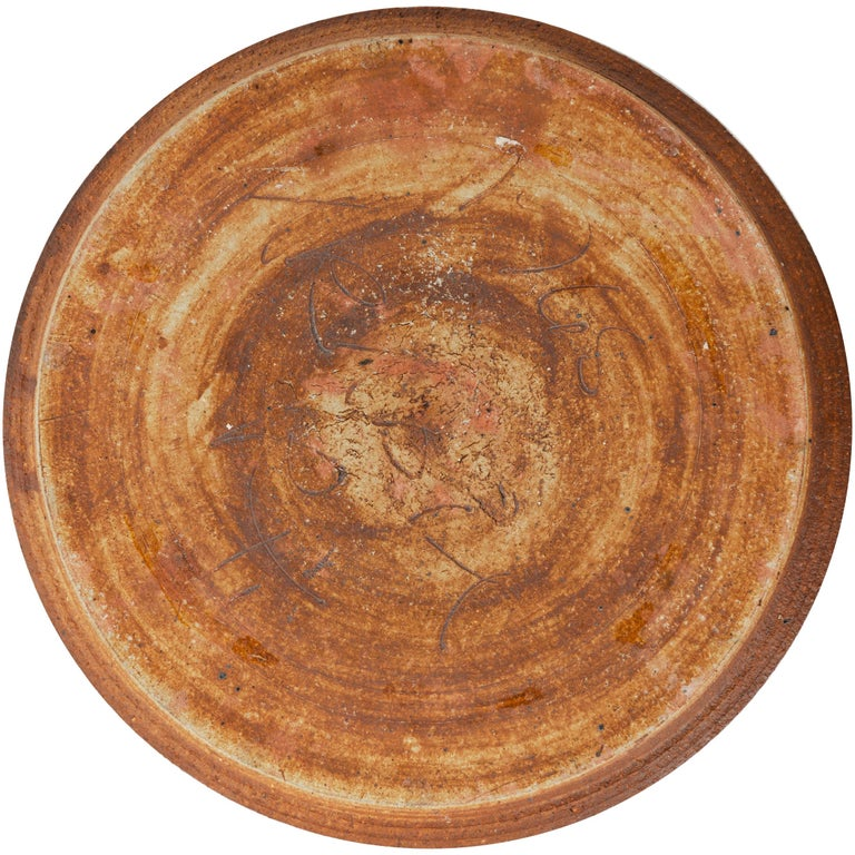 Ceramic Platter by Raija Tuumi for Arabia, Finland In Good Condition For Sale In Sagaponack, NY