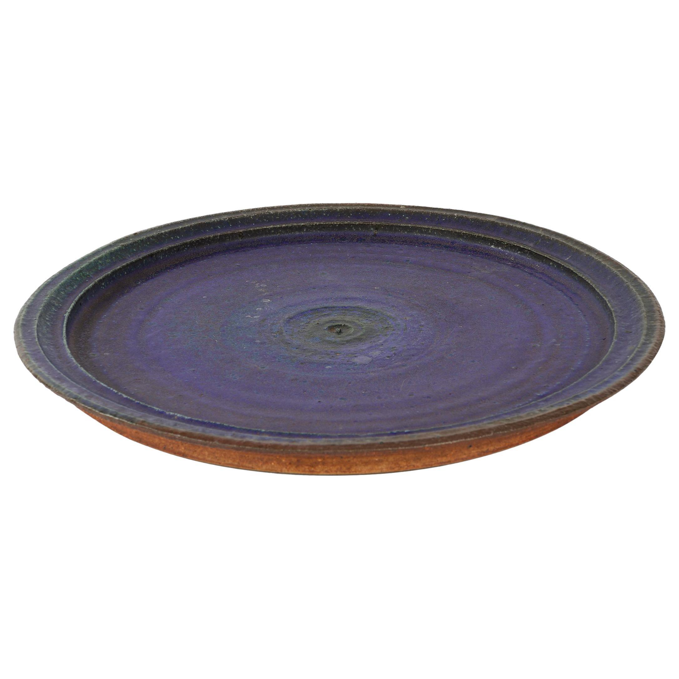 Ceramic Platter by Raija Tuumi for Arabia, Finland