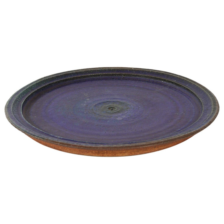 Ceramic Platter by Raija Tuumi for Arabia, Finland For Sale