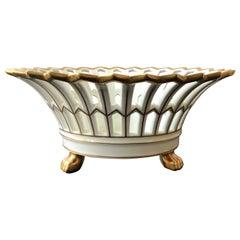 Ceramic Portuguese Lattice Bowl