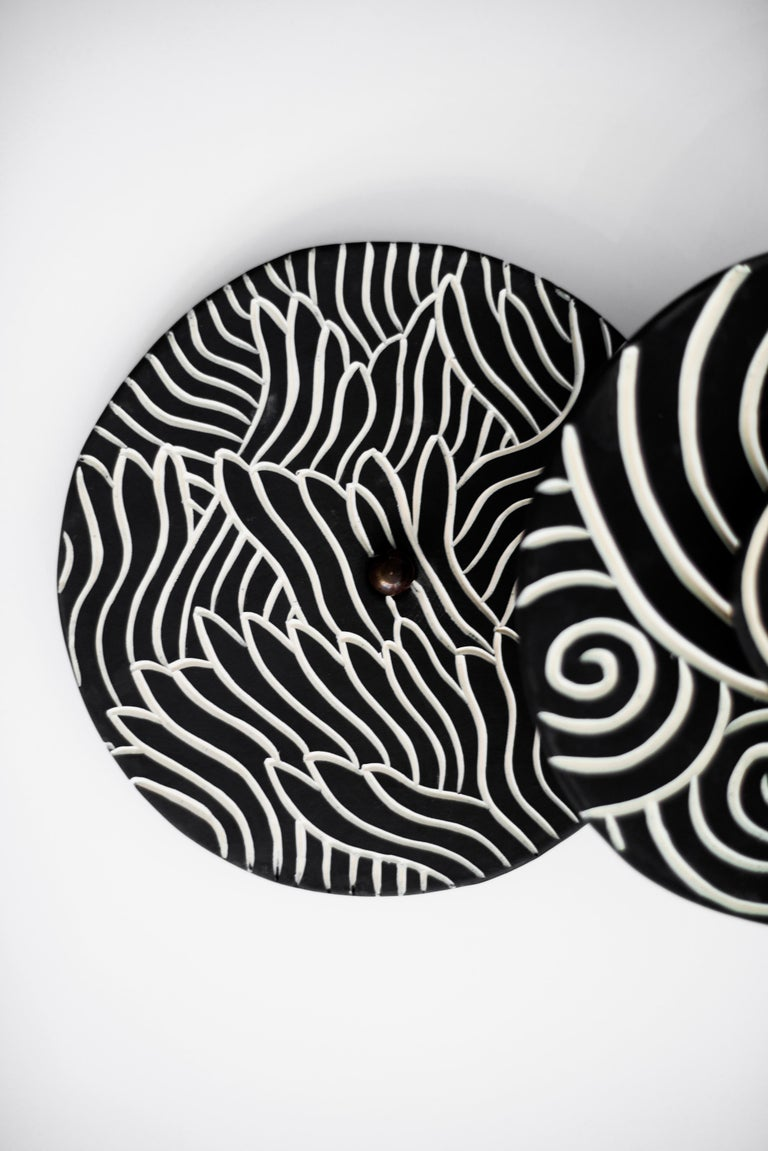 Ceramic Sconces by Jennifer Nocon, Untitled For Sale 1