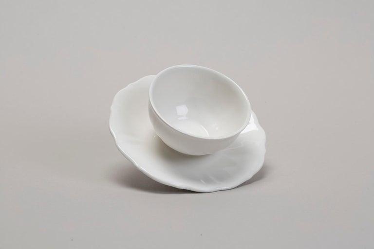 Italian Ceramic Sculptural Ring by Andrea Salvatori Contemporary 21st Century Art Jewel For Sale