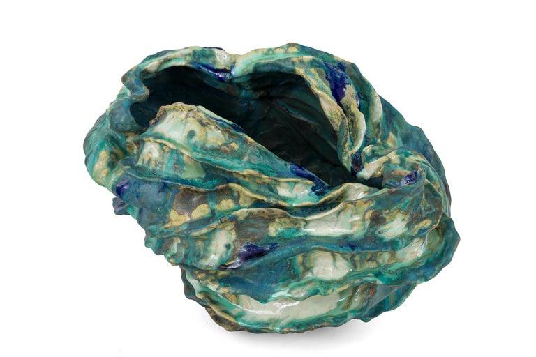 Danish Ceramic Sculptural Vase by Henrik Folsgaard, Denmark, 2020 For Sale
