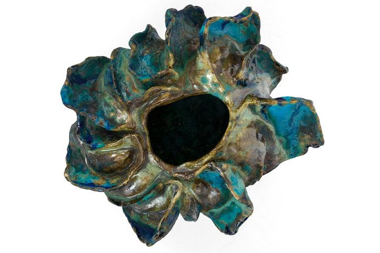 Contemporary Ceramic Sculptural Vase by Henrik Folsgaard, Denmark, 2020 For Sale