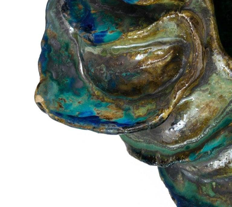 Ceramic Sculptural Vase by Henrik Folsgaard, Denmark, 2020 For Sale 2