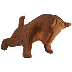 Ceramic Sculpture Bear Model by Nathalie Du Pasquier for Alessio Sarri Editions