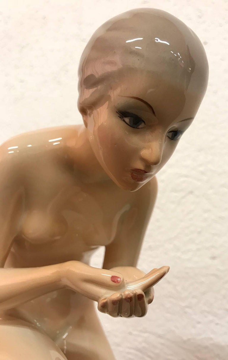 Ceramic Sculpture by Ronzan, Italy In Excellent Condition For Sale In Meda, MB