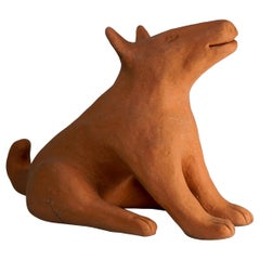 Ceramic Sculpture Wolf Model by Nathalie du Pasquier for Alessio Sarri Editions