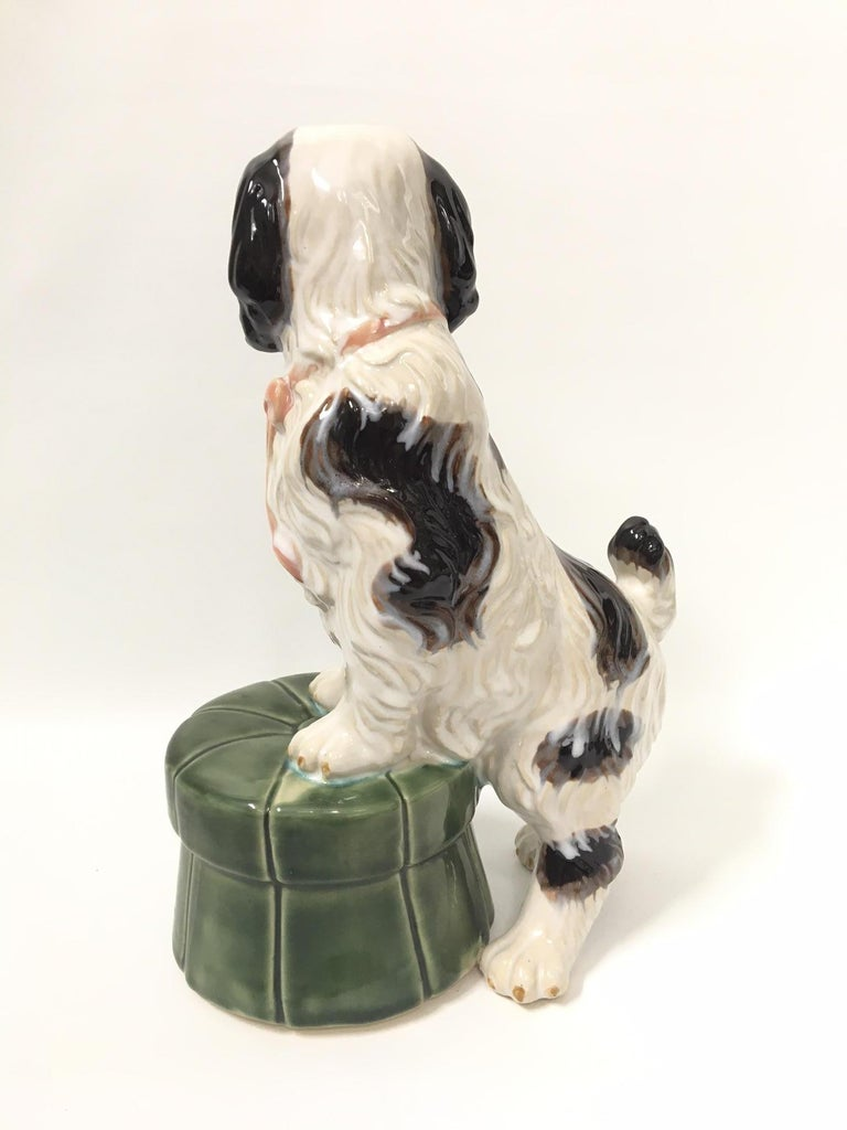 Ceramic Staffordshire Dog Figurine At 1stdibs