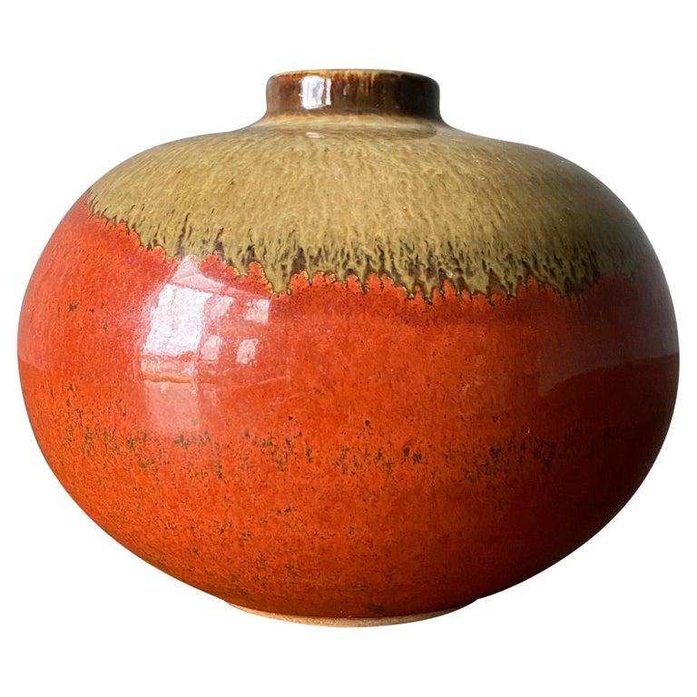 Ceramic Studio Crafted Vase, circa 1960s For Sale