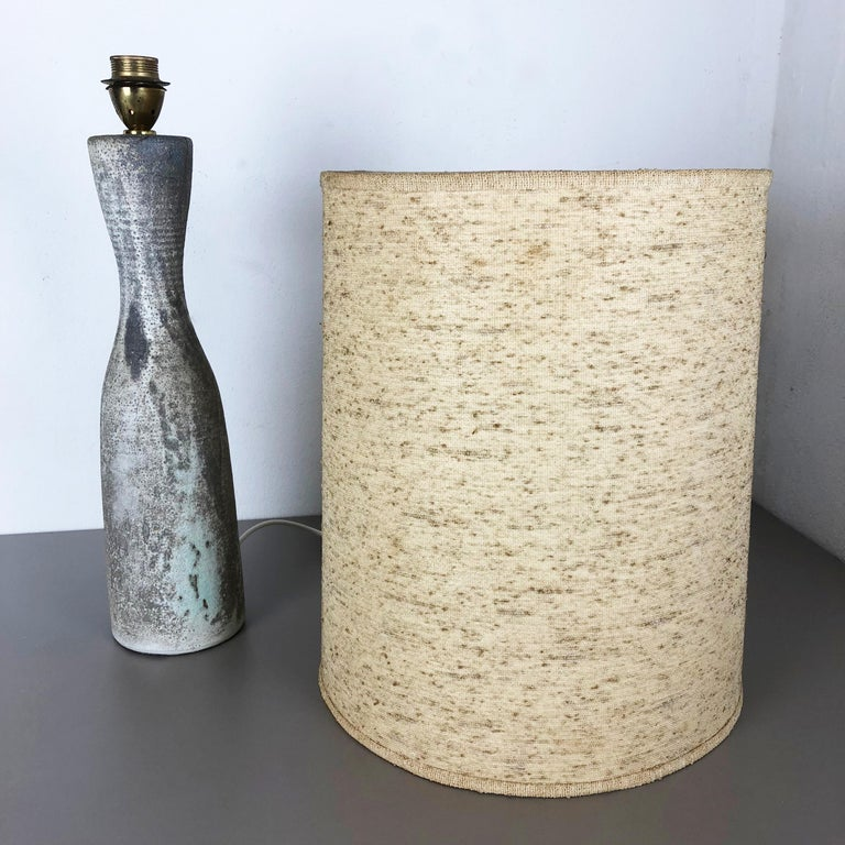 Ceramic Studio Pottery Table Light by Piet Knepper for Mobach, Netherlands 1960s 7