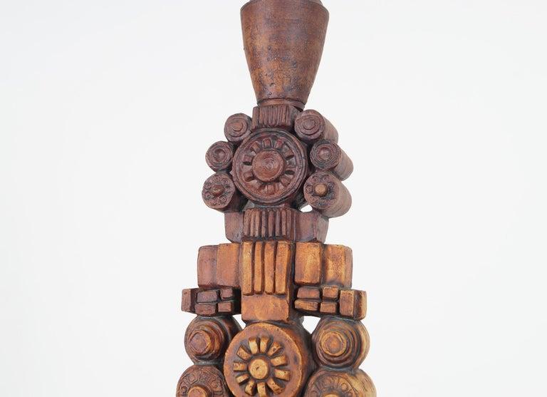 Mid-Century Modern Terracotta Studio Pottery