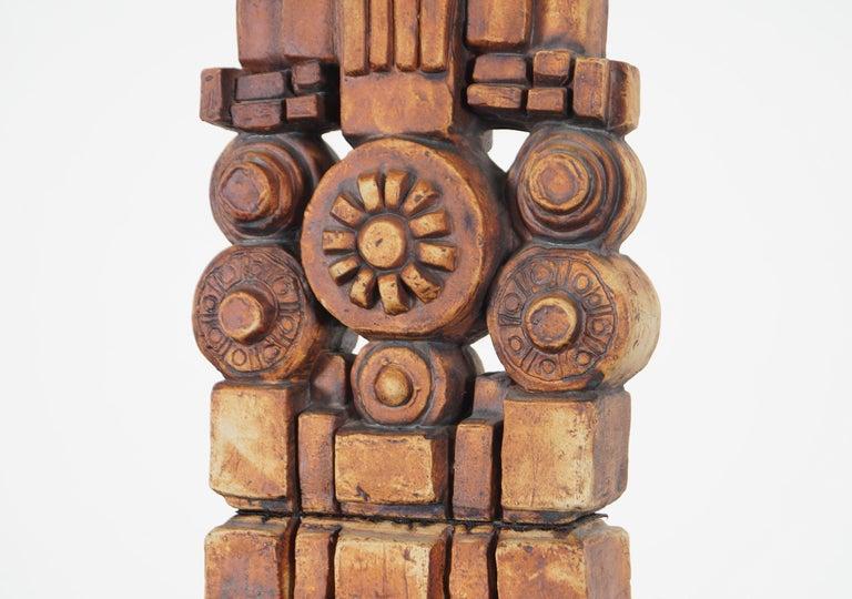 Late 20th Century Terracotta Studio Pottery
