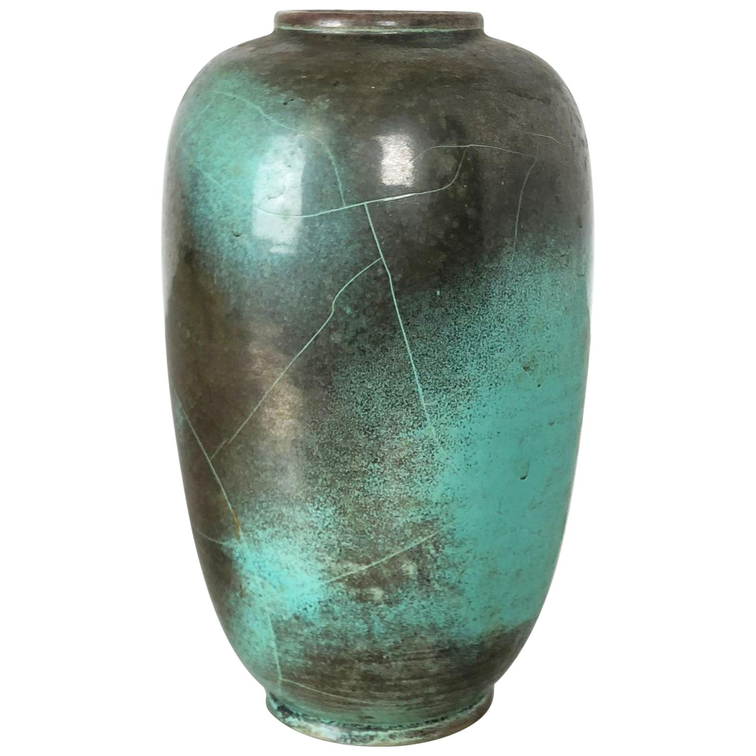 Ceramic Studio Pottery Vase Richard Uhlemeyer Hannover, Germany, 1940s
