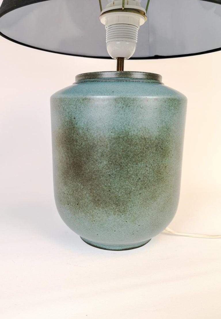 Mid-Century Modern Ceramic Swedish Midcentury Table Lamp by Gunnar Nylund Rörstrand For Sale