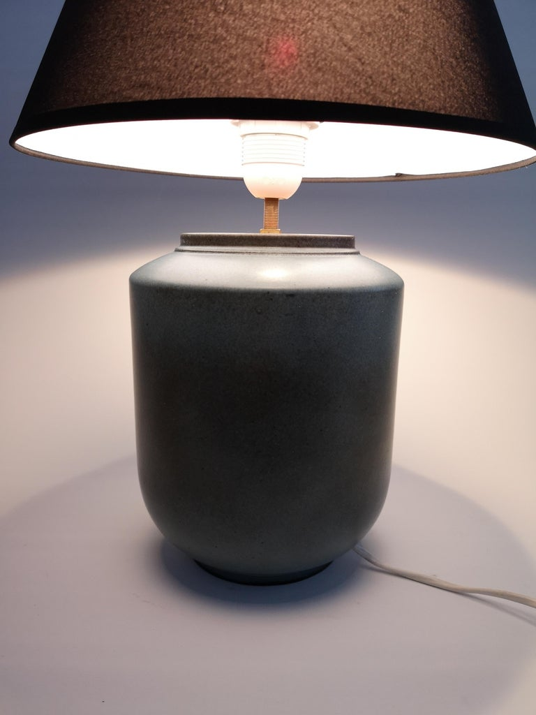Mid-20th Century Ceramic Swedish Midcentury Table Lamp by Gunnar Nylund Rörstrand For Sale