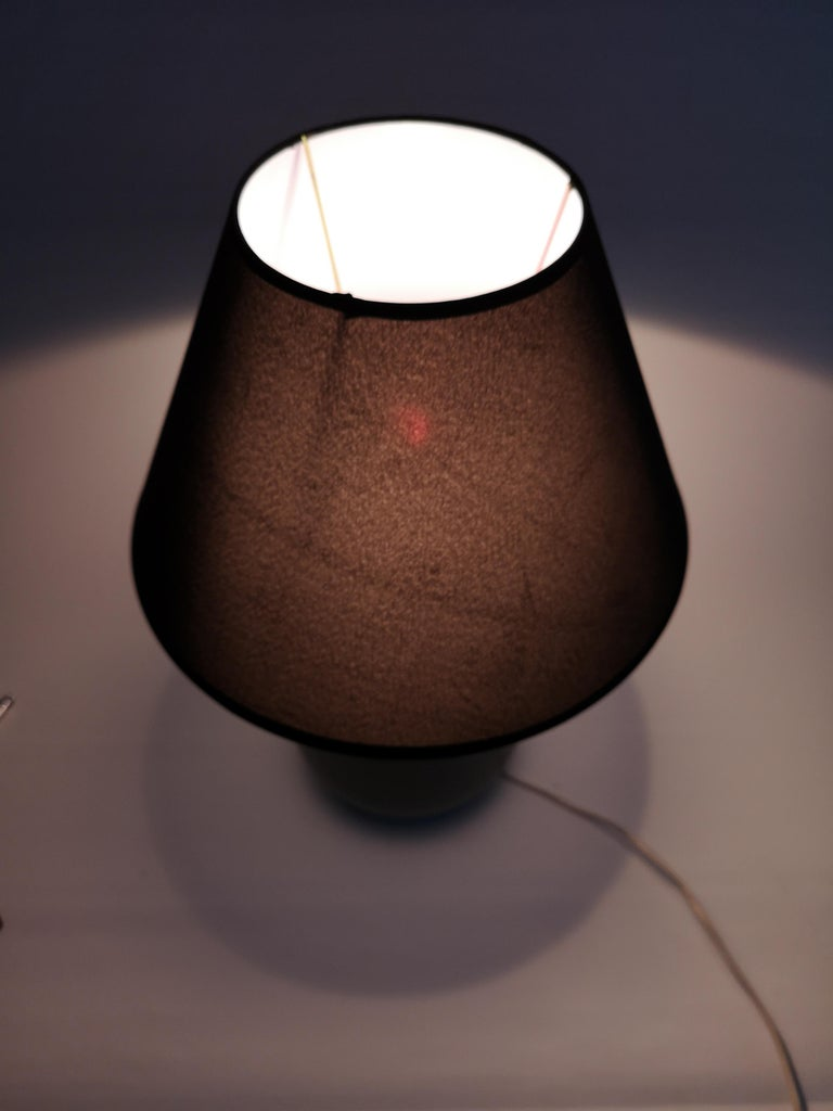 Ceramic Swedish Midcentury Table Lamp by Gunnar Nylund Rörstrand For Sale 1