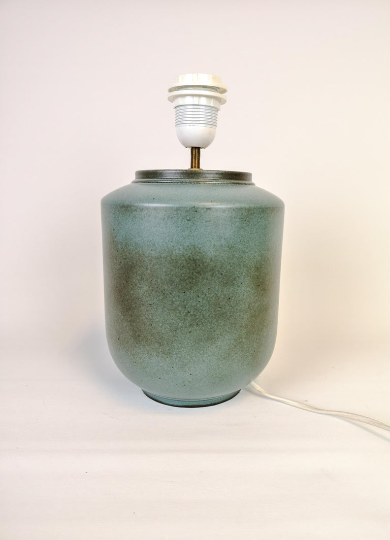 Ceramic Swedish Midcentury Table Lamp by Gunnar Nylund Rörstrand For Sale 2