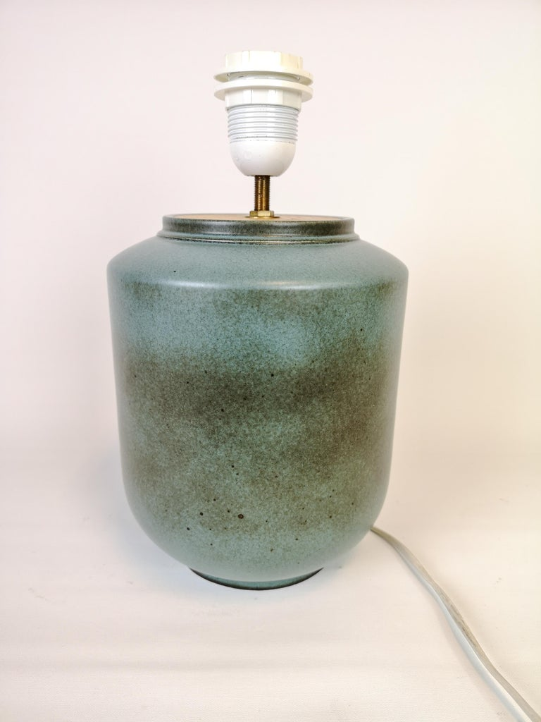 Ceramic Swedish Midcentury Table Lamp by Gunnar Nylund Rörstrand For Sale 4
