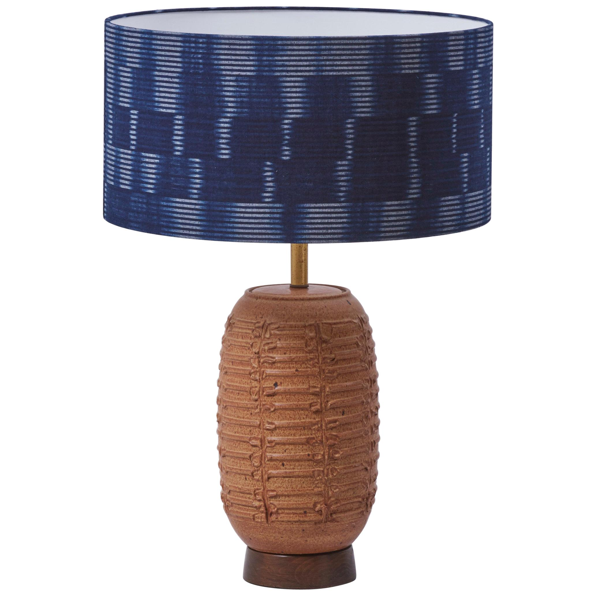 Ceramic Table Lamp by Affiliated Craftsmen Bob Kinzie, US, 1960s