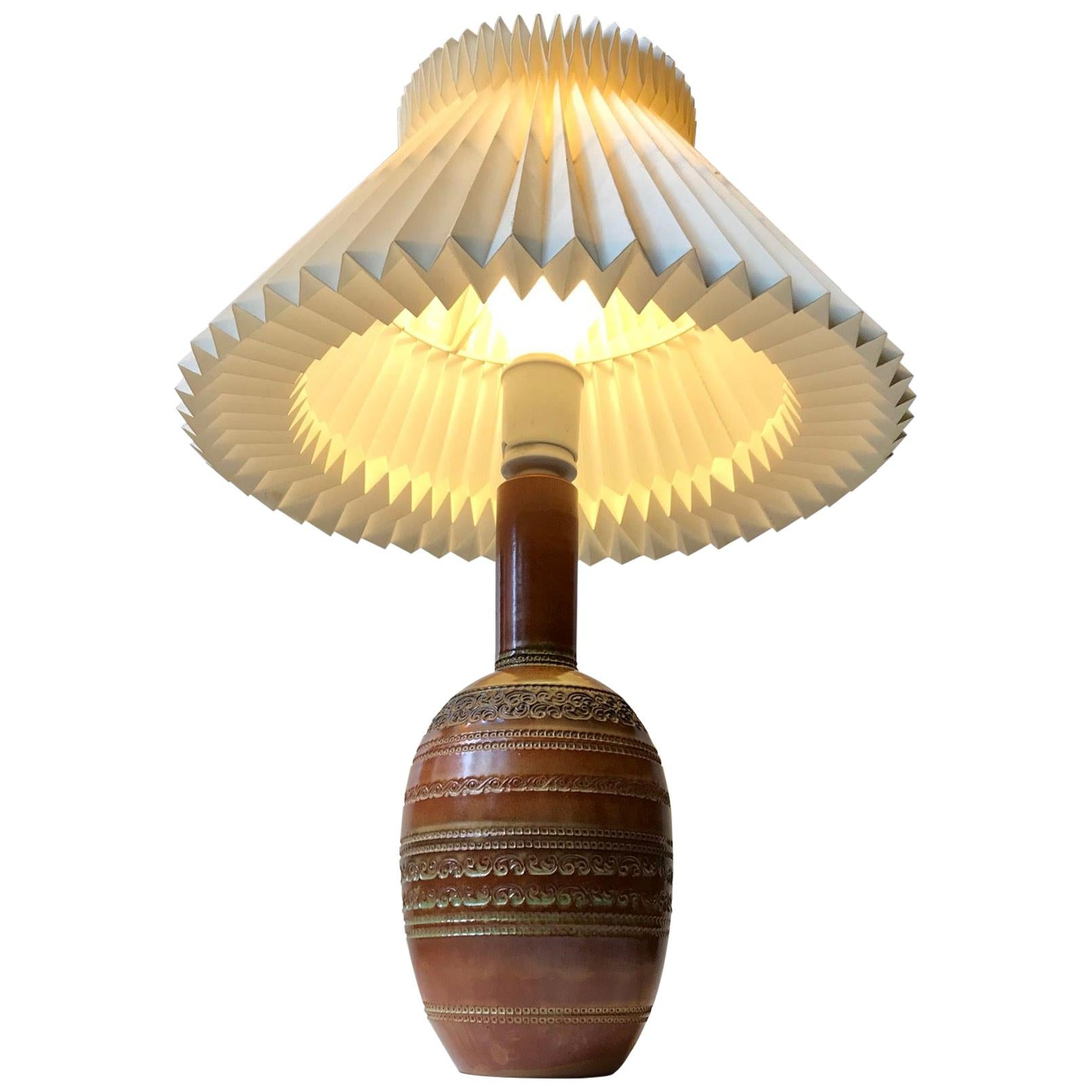 Ceramic Table Lamp by Aldo Londi for Bitossi, 1960s