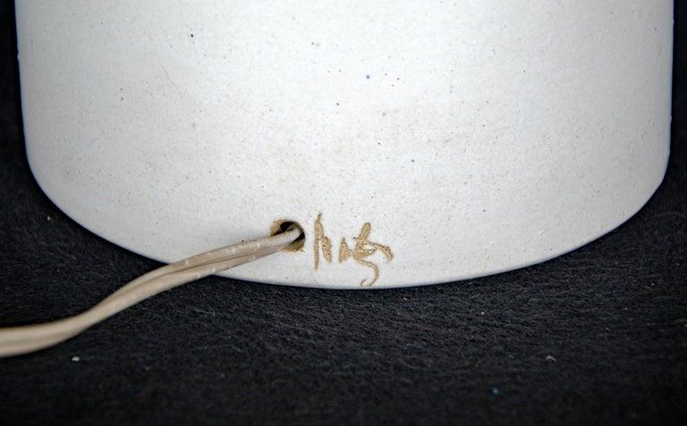 American Ceramic Table Lamp by Gordon & Jane Martz for Marshall Studios For Sale